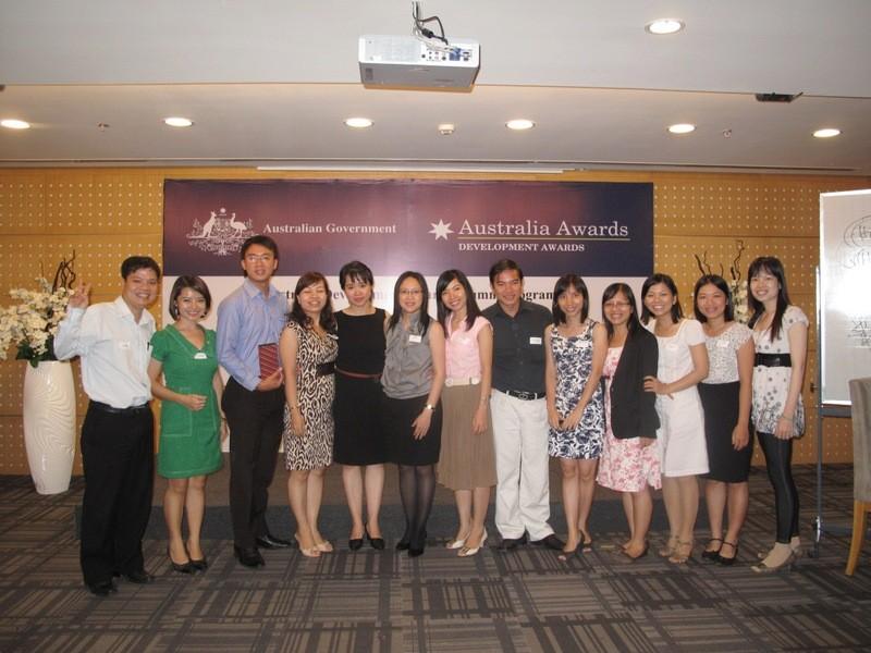Hội thảo về thực hành lãnh đạo tại thành phố Hồ Chí Minh tháng 6/2012.