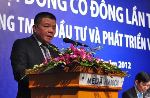 Ông Trần Bắc Hà - Chủ tịch Hội đồng quản trị Ngân hàng BIDV cho rằng