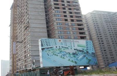 Một đơn nguyên trong tổ hợp  chung cư CT7 - Lê Văn Lương  Residentials thuộc đô thị mới Dương  Nội của Tập đoàn Nam Cường