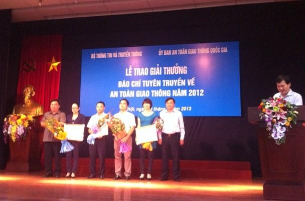 Những Nhà báo đoạt giải Nhất cuộc thi