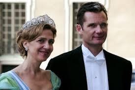 Công chúa Cristina và chồng. Ảnh: Internet