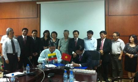 Doanh nghiệp Việt Nam và Myanmar ký thỏa thuận hợp tác