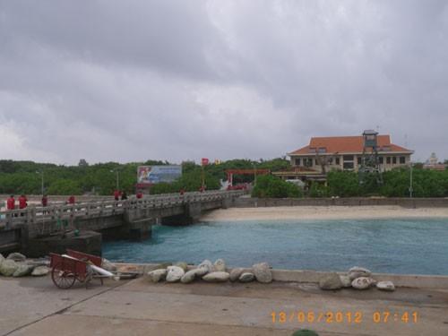 ĐảoTrường Sa Lớn, huyện Trường Sa - Khánh Hòa
