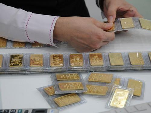 Sẽ thanh tra trách nhiệm việc thực hiện chức năng, nhiệm vụ của NHNN đối với hoạt động kinh doanh, huy động và cho vay vốn bằng vàng. Ảnh: HỒNG THÚY