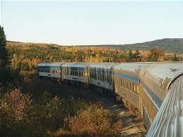 Một đoàn tàu hỏa của Canada. Ảnh: Internet