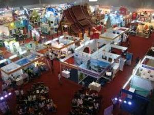 Hội chợ du lịch quốc tế. Ảnh minh họa