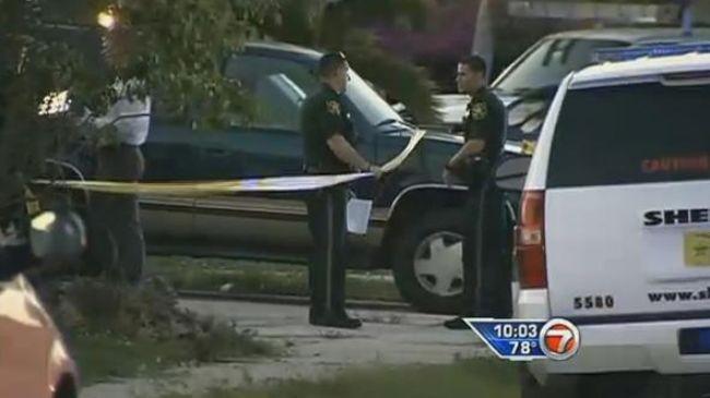 Cảnh sát tại hiện trường vụ việc.