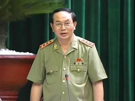 Bộ trưởng Bộ Công an, Trần Đại Quang
