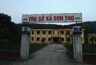 UBND xã Sơn Thọ nơi nhiều lần PV liên hệ làm việc nhưng đều bị lảng tránh