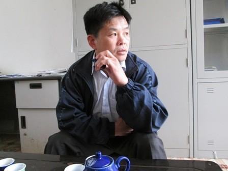 Anh Nông Văn Khâm Phó Chủ tịch xã Đức HồngNông Lưu Vĩnh