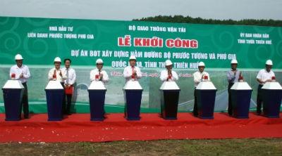 Khởi công xây dựng hầm đường bộ qua đèo Phú Gia và Phước Tượng