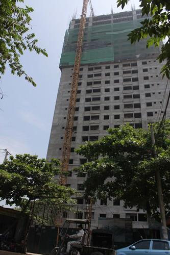 Tòa nhà nơi xảy ra sự việc