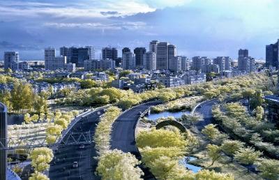 Một hình ảnh về đô thị PMH