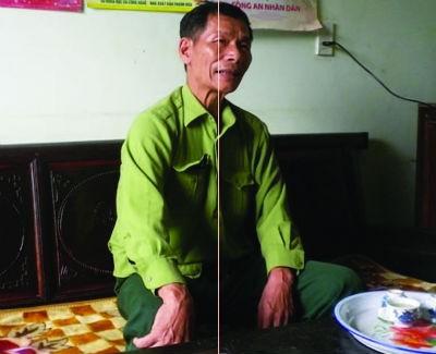 Ông Nguyễn Quang Vinh trình bày lại việc ông bị tên Lâm kè kiếm vào cổ