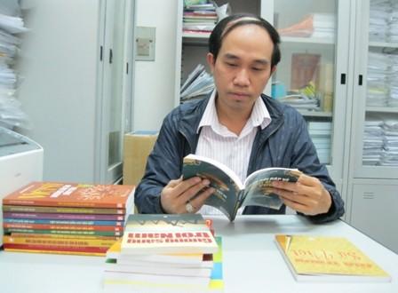 Anh Lê Thái Dũng và những cuốn sách lịch sử đã xuất bản của mình