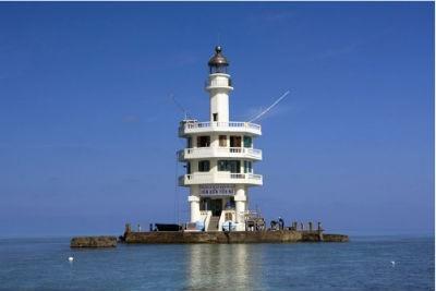 Hải đăng Tiên Nữ được coi là một trong những hải đăng đẹp nhất trong khu vực