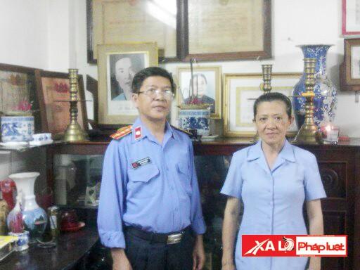 Hai người con của Anh hùng Liệt sĩ Lê Tấn Quốc
