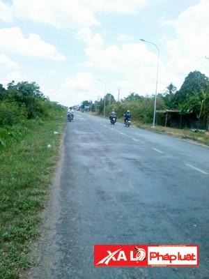 Kể từ ngày đoạn đường được nâng cấp, tai nạn giao thông quanh khu vực miếu đôi giảm đáng kể