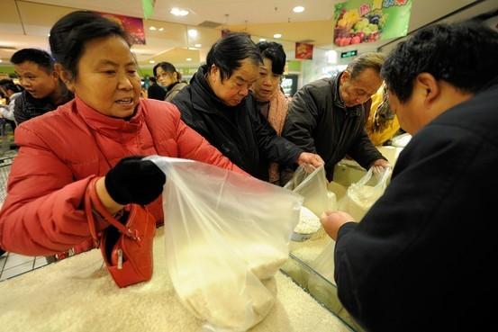 Người Trung Quốc đang quay lưng với lúa gạo sản xuất trong nước. Ảnh: Internet