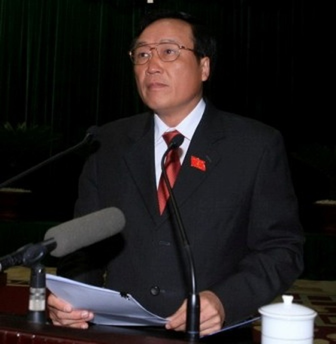 Viện trưởng VKSNDTC Nguyễn Hòa Bình: (ảnh)