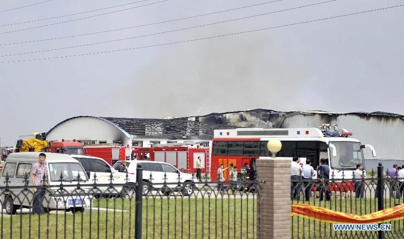 HIện trường vụ hỏa hoạn. Ảnh: Internet