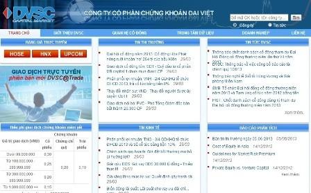 Website của DVSC