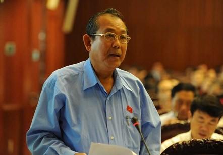 Chánh án TANDTC Trương Hòa Bình