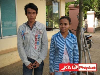 Vợ chồng Sơn Cầm Bộ đến công an huyện tố cáo việc bị giam giữ, dọa đánh, cắt lương…