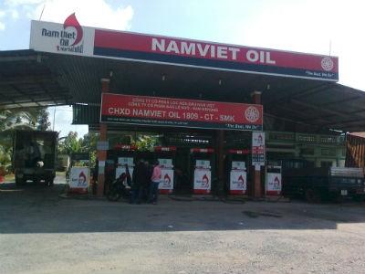 Một cửa hàng Nam Việt Oil tại Cần Thơ