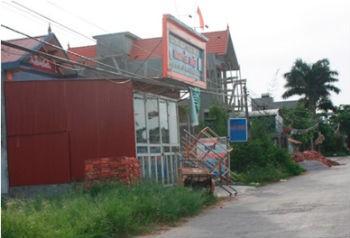 Khu đất thôn Đồng Hậu, xã Kính Trực bị lãnh đạo xã bán trái luật