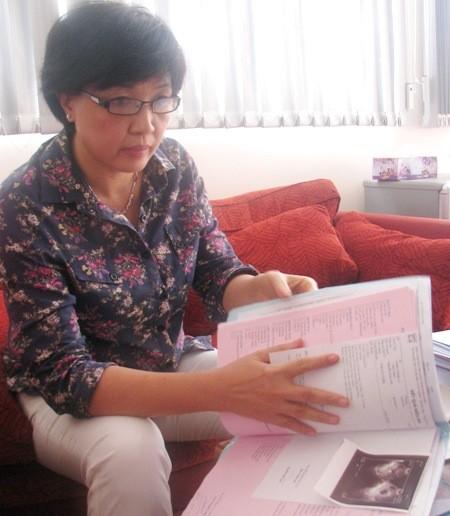 Bà Nguyễn Thị Ngọc Hồ- Giám đốc BVPSQT Phương Châu khẳng định: