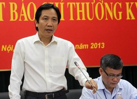Thứ trưởng Bộ Nội vụ Trần Anh Tuấn.