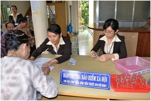 Bảo hiểm xã hội sẽ đảm bảo quyền lợi cho người lao động, ảnh MH