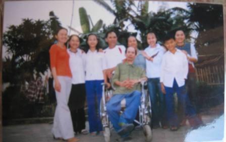 Gia đình ông Quang