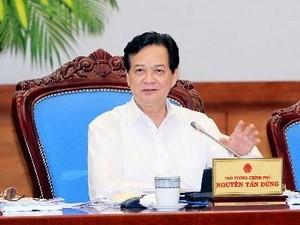 Thủ tướng Nguyễn Tấn Dũng. (Ảnh: Đức Tám/TTXVN)